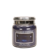 Wish Upon A Star Village Candle 16oz Scented Candle Jar