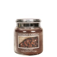Coffee Bean Village Candle 16oz Scented Candle Jar