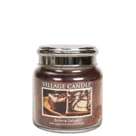 Brownie Delight Village Candle 16oz Scented Candle Jar