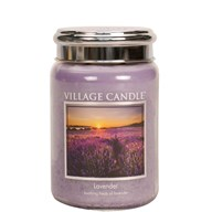 Lavender Village Candle 26oz Scented Candle Jar
