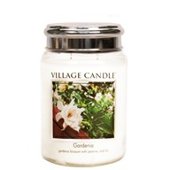 Gardenia Village Candle 26oz Scented Candle Jar