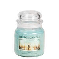 Rain Village Candle 16oz Scented Candle Jar - Glass Dome Lid
