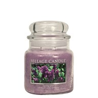 Spring Lilac Village Candle 16oz Scented Candle Jar - Glass Dome Lid
