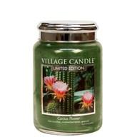 Cactus Flower Village Candle 26oz Scented Candle Jar