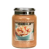 Salted Caramel Latte Village Candle 26oz Scented Candle Jar