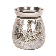 Electric Wax Melt Burner - Gold and Silver Crackle