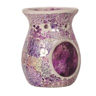Wax Melt Burner - Purple Crackle