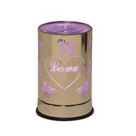 Cylinder Electric Wax Melt Burner - Love