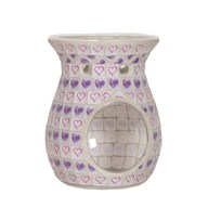 Wax Melt Burner - Lilac Heart