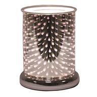 Cylinder 3D Electric Wax Melt Burner - Shooting Star