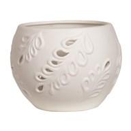 Ceramic Tealight Holder - Leaf