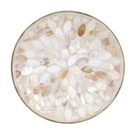 Candle Plate - Mother Of Pearl