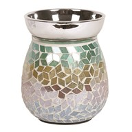 Electric Wax Melt Burner - Diamond Tricolour