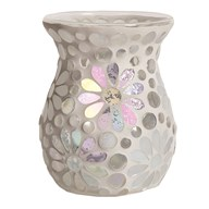 Wax Melt Burner - Pearl Floral