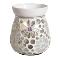 Electric Wax Melt Burner - Pearl Floral