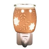 Wax Melt Burner Plug In - Ceramic Floral