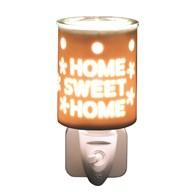 Wax Melt Burner Plug In - Ceramic Home Sweet Home
