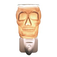 Wax Melt Burner Plug In - Ceramic Skull
