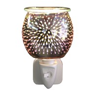 Wax Melt Burner Plug In - 3D Glass Shooting Star