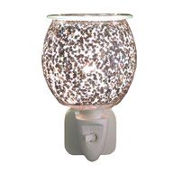 Wax Melt Burner Plug In - Glitter Glass
