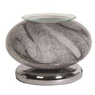 Electric Wax Melt Burner Touch - Grey Marble Ellipse