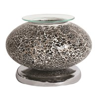 Electric Wax Melt Burner Touch - Black Mosaic Ellipse