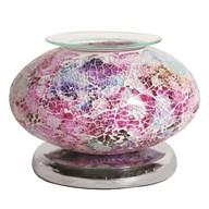 Electric Wax Melt Burner Touch - Pink Mosaic Ellipse