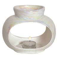 Wax Melt Burner - Oval Lustre Single Burner