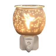 Wax Melt Burner Plug In - White Satin Fairy