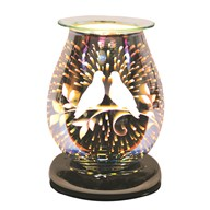 Electric Wax Melt Burner Touch - 3D Doves Oval
