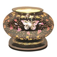 Electric Wax Melt Burner Touch - 3D Butterfly Ellipse