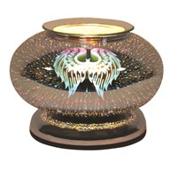 Electric Wax Melt Burner Touch - 3D Angel Wings Ellipse