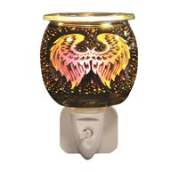 Wax Melt Burner Plug In - 3D Angel Wings