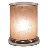 Electric Wax Melt Burner Touch - Sherbet Pewter Cylinder