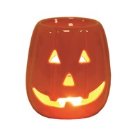 Wax Melt Burner - Pumpkin Orange