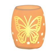 Electric Wax Burner – Ceramic Butterfly