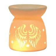Wax Melt Burner - Ceramic Angel Wings