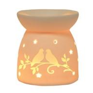 Wax Melt Burner - Ceramic Doves