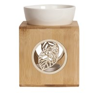 Wax Melt Burner – Zen Bamboo Leaf