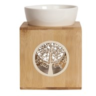 Wax Melt Burner – Zen Bamboo Tree