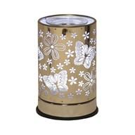 Cylinder Electric Wax Melt Burner - Butterfly