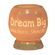 Electric Wax Melt Burner - 'Dream Big Sparkle More Shine Bright'