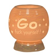 Electric Wax Melt Burner - 'Go F*** Yourself'