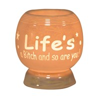 Electric Wax Melt Burner -  'Life's A B****'
