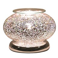 Electric Wax Melt Burner Touch - Glitter Star Ellipse