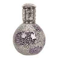 Fragrance Lamp - Purple & Silver