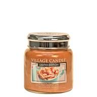 Salted Caramel Latte Village Candle 16oz Scented Candle Jar