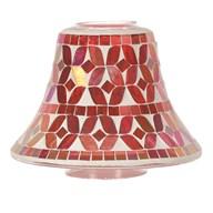Cherry Lustre Candle Jar Lamp Shade 16cm