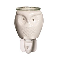 Wax Melt Burner Plug In - Ceramic Owl