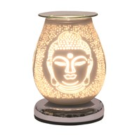 Electric Wax Melt Burner Touch - White Satin Buddha